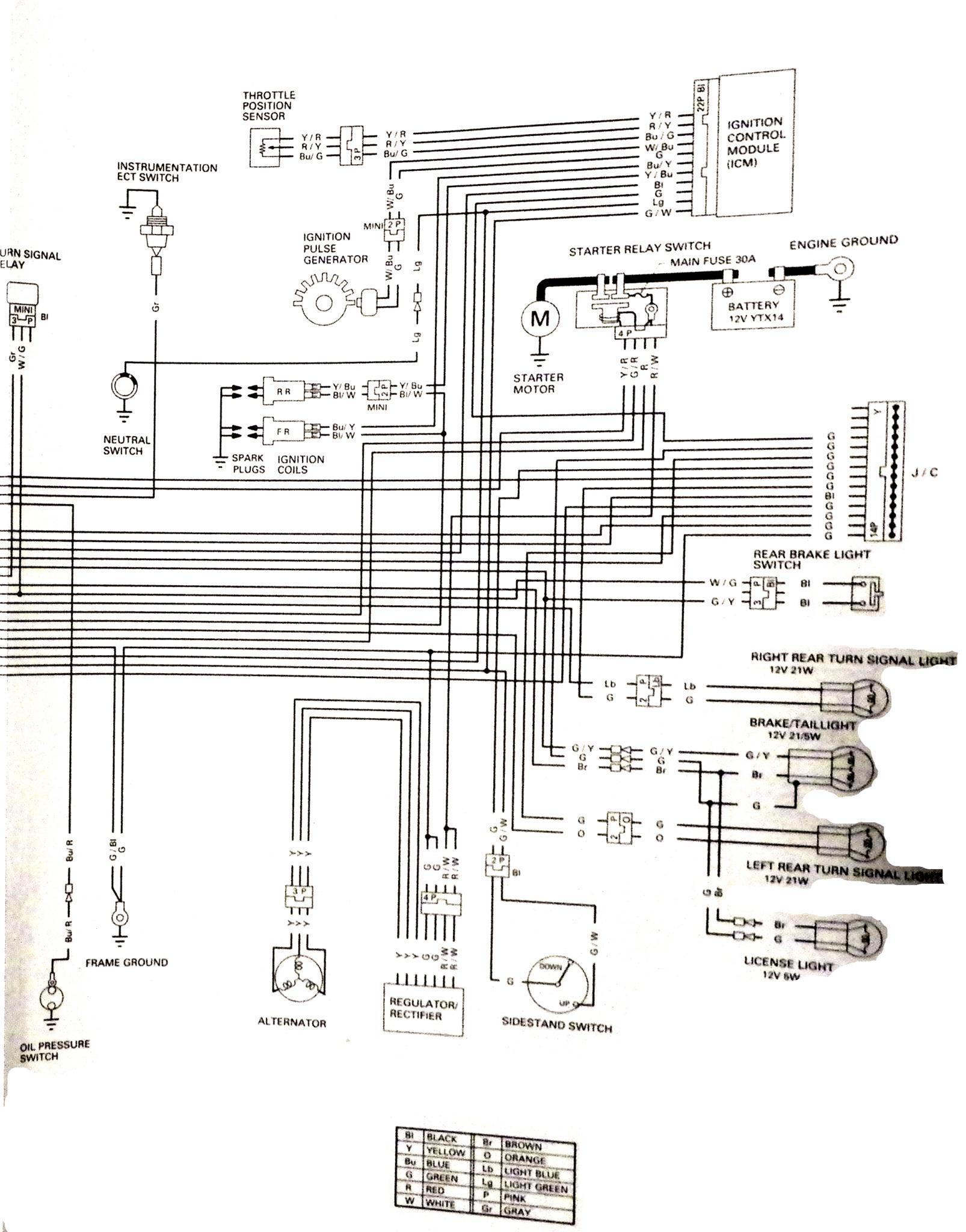 06 1300 R Wiring Schematic Honda Vtx