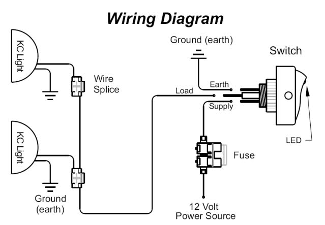 Driving Lights Wiring Help Needed, Driving Light Wiring Diagram